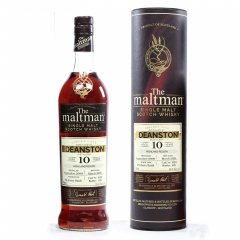 Deanston 2009 10Y Single Cask 16902 55.1% The Maltman
