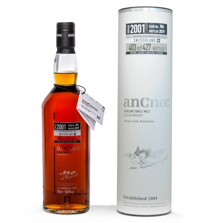 An Cnoc 2001 18Y Single Cask Exklusive 984 50.4%